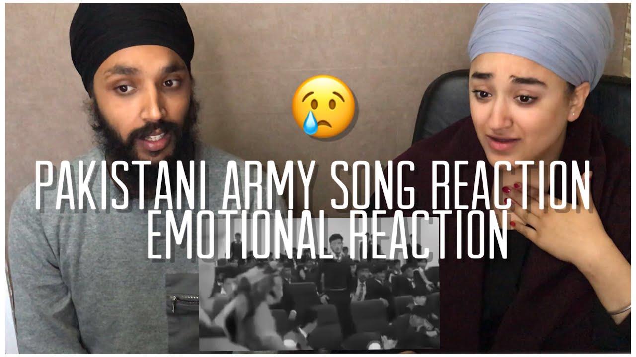 tumharay khoon ka jo qarz hai   Pakistani Army Song Reaction