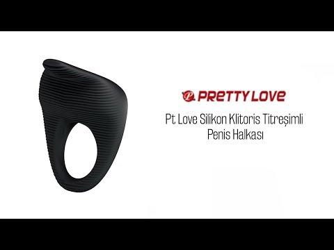 Pt Love Silikon Klitoris Titreşimli Penis Halkası