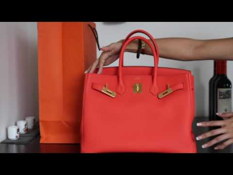 REVEAL: Hermes Birkin 35 Orange Poppy | 2017
