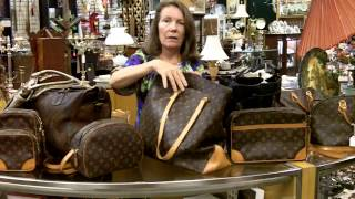 Vintage Louis Vuitton Bags, Burberry Bags, and Brahmin Bags just in at Gannon's Antiques