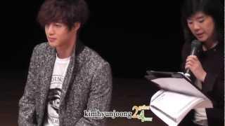 121211 KimHyunJoong fancam -  Premium event for releasing of new album『UNLIMITED』@Tokyo