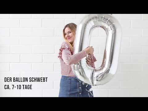 #8 PARTYTUTORIAL: Folienballons mit Mehrwegkartusche Helium befüllen