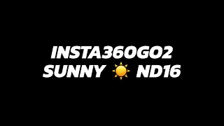 FPV Insta360 Go 2 Testing Manual Shutter and ISO: Sunny ☀️ ND16