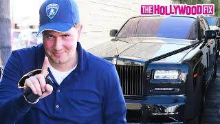 James Stunt Shows Off A Fleet Of Luxury Vehicles At Ebaldi Beverly Hills 9.19.15