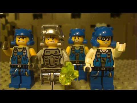 Vidéo LEGO Power Miners 8188 : Le véhicule extincteur