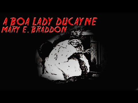 A BOA LADY DUCAYNE de Mary E. Braddon | Mês do Halloween #5 - ANO 7