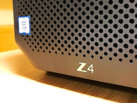NEW HP Z Workstations - Z8, Z6, and Z4 G4! - игровое видео