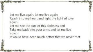 Charley Pride - Let Me Live Lyrics