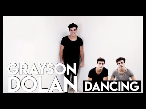 proof that grayson dancing goes with any song.