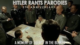 A moment of silence in the bunker