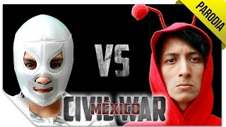Civil War México | PARODIA: Tráiler | QueParió! ft. Los Supercívicos