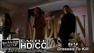 "Castle 6x14  ""Dressed To Kill"" Beckett  was a Fashion Model (HD/CC)"