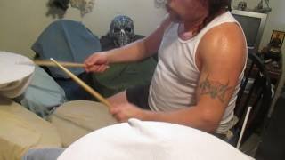 Anthrax-Strap It On-Drum Cover By Rick Animal Taylor