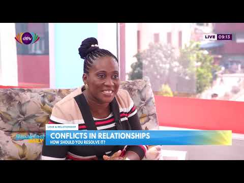 Conflict resolution in relationships with Rev. Mrs. Erica Konadu Clad - Breakfast Daily