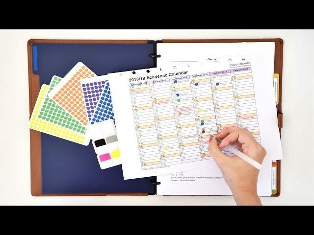 Notebook Organisation Customisation