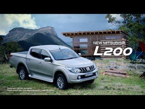 Mitsubishi  L200 Пикап класса J - рекламное видео 1