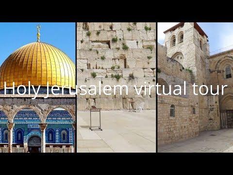 Virtuális túra Jeruzsálemben. Jöttök? :)Each year, during Passover and Easter thousands of …