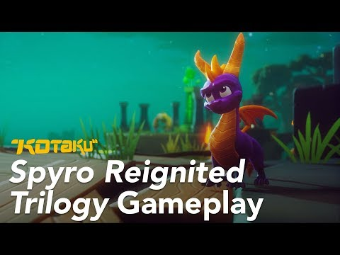 Spyro Reignited Trilogy Breathes New Life Into An Old Classic
