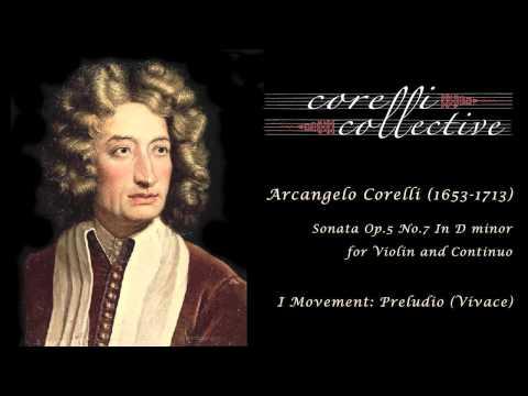 A. Corelli, Sonata Op.5 No.7 - Preludio (Vivace)