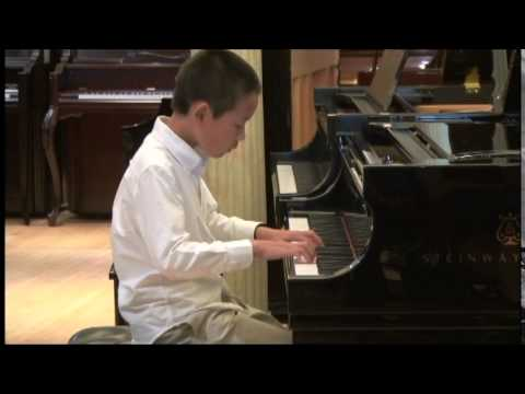"""My student Jason Huang (11) has won the """"First Place"""" in the Crescendo International Music Competitions in Nov. 2014."""