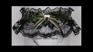 Camouflage & Hunting Garters For Wedding Bridal Prom.wmv