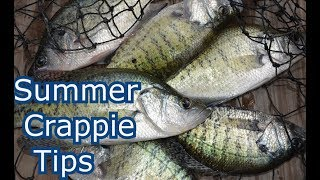 How to Catch Crappie in the Summer - Lake Fishing Tips, Secrets