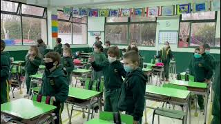 1st grade in action – Science experiment 2