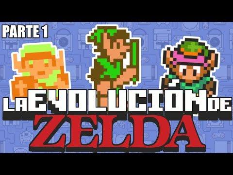 La Evolución de The Legend of Zelda - PARTE 1