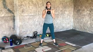 Lean Legs Workout With Kettlebell or Dumbells!
