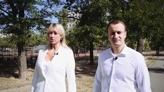 Татьяна Домбровская представила участника своей команды по направлению образование – Богдана Фасия