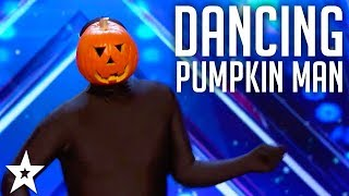 Dancing Pumpkin Man on America's Got Talent | Got Talent Global