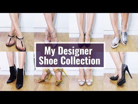 My Designer Shoe Collection/Chanel, Valentino,Ferragamo,Jimmy Choo, Sergio Rossi, Miu Miu