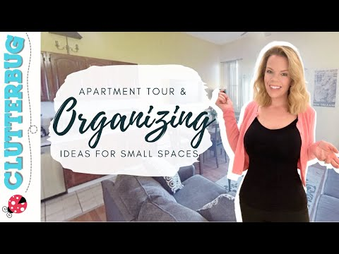 Apartment Tour & Organizing Ideas for Small Spaces