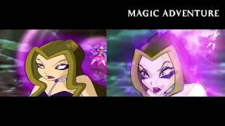 Winx Club - All Battle Rai VS Nick HD