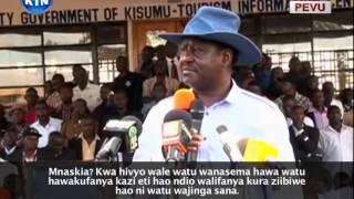 Jicho Pevu: Dugudwa la Uchaguzi, Makala ya pili