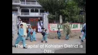 preview picture of video 'Karakoram highway,  Kohistan  (Pakistan)'