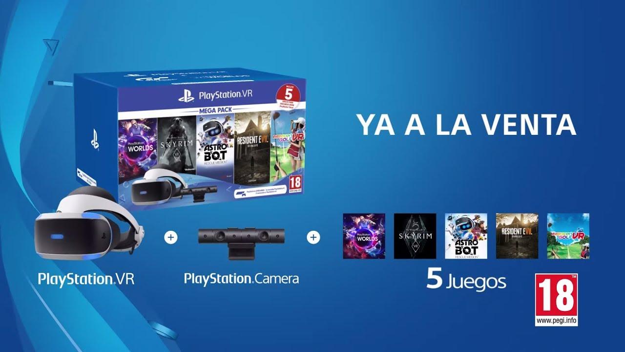Llega el nuevo PlayStation VR Mega Pack