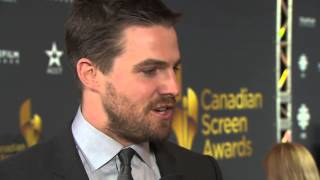 Stephen Amell - Interview Canadian Screen Awards mars 2013