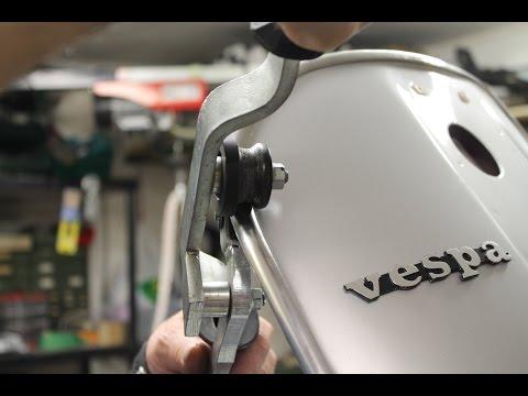 montaggio bordo scudo - Vespe e tutorial