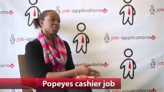 Popeyes Cashier Job
