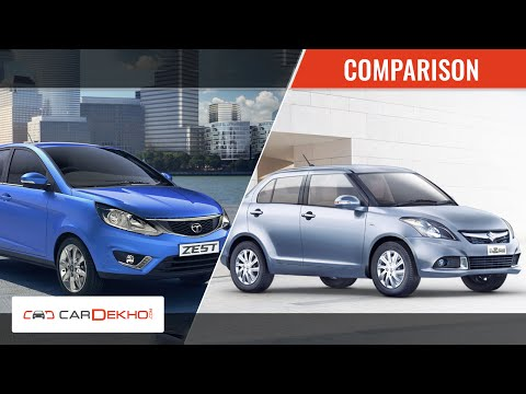 2015 Maruti Suzuki Swift Dzire Vs Tata Zest