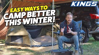YOUR 5MIN GUIDE TO... Winter Camping Hacks & Tricks!