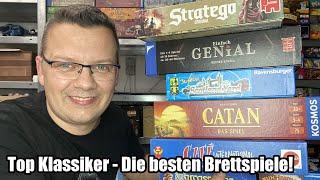 Top Klassiker - Die besten Brettspiele, Gesellschaftsspiele bzw. Kartenspiele