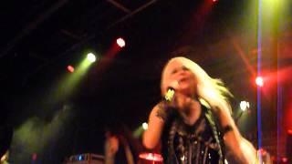 """Doro """"Revenge"""" Baltimore Sound Stage, Baltimore, MD 2/5/13 live concert"""