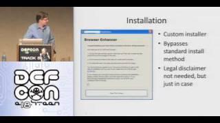 Defcon 18 -My life as a spyware developer - Garry Pejski - Part.mov
