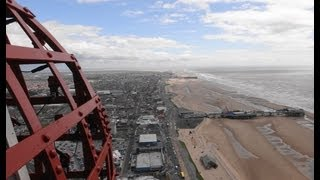 preview picture of video 'The Blackpool Tower Tour 2013 (With a Superzoom Camera)'