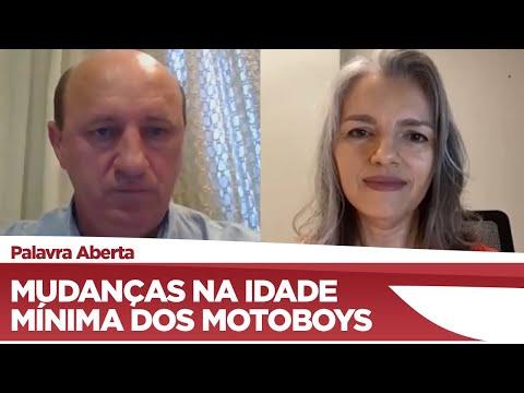 Neri Geller pretende reduzir idade mínima para trabalhar como motoboy - 23/11/20