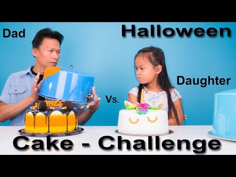 Halloween DIY Cake Decoration Challenge