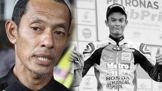 Pembalap Mohd Hafiz Tewas Tabrakan saat Balapan, sang Ayah Ungkap Janji Anaknya yang Belum Terpenuhi