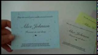 Memorial cards from nextgenmemorials.com